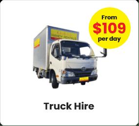 small truck hire